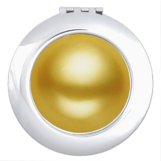 Golden Pearl Vanity Mirrors