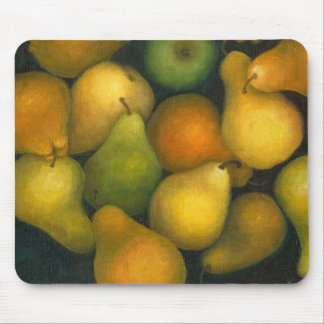 golden pears mouse mats