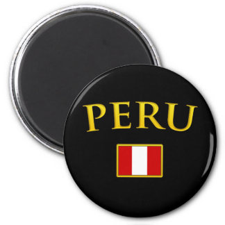 Golden Peru Magnet