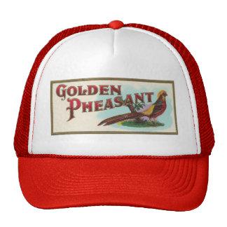 Golden Pheasant Cap