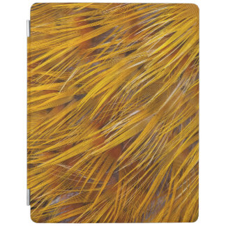 Golden Pheasant Feathers Close Up iPad Cover