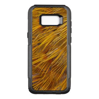 Golden Pheasant Feathers Close Up OtterBox Commuter Samsung Galaxy S8+ Case