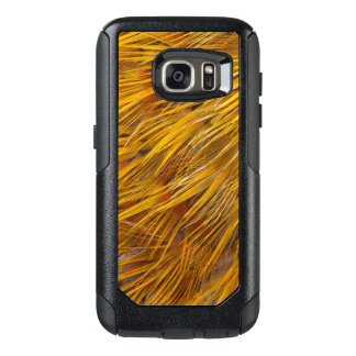 Golden Pheasant Feathers Close Up OtterBox Samsung Galaxy S7 Case