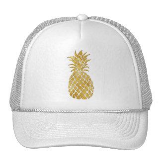 golden pineapple cap