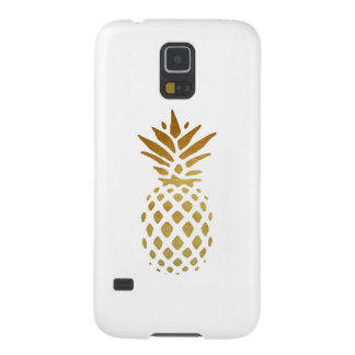 Golden Pineapple, Fruit in Gold Case For Galaxy S5