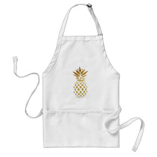 Golden Pineapple, Fruit in Gold Standard Apron