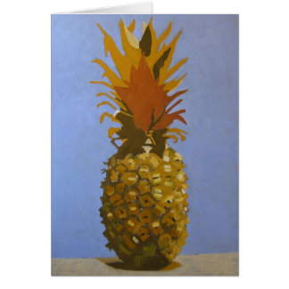 Golden Pineapple Greeting Card / Invitation