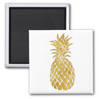 golden pineapple magnet