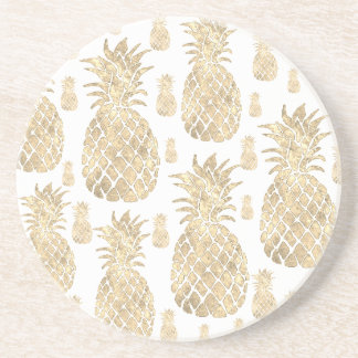 golden pineapples coaster