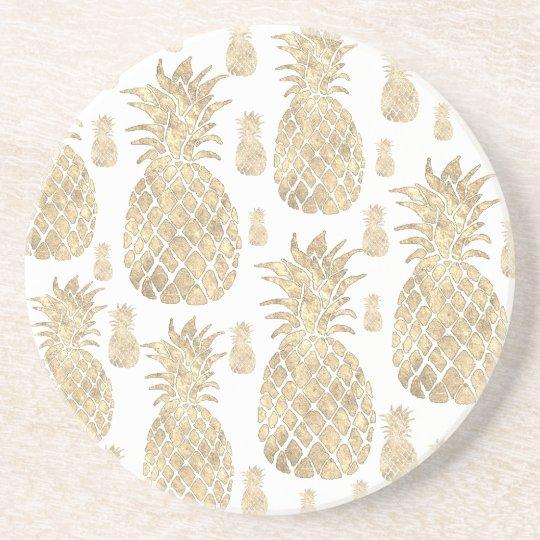 golden pineapples coaster