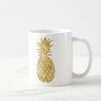 golden pineapples coffee mug