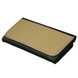 Golden-Plaid's-Wallet's-Multi-Styles Wallet For Women