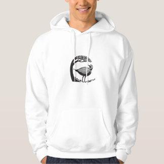 Golden Plover Standing Tree Tribal Art Sweatshirt