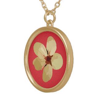 Golden Plum Blossoms Custom Jewelry