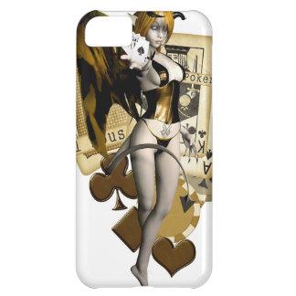 Golden Poker Girl 2 iPhone 5C Case