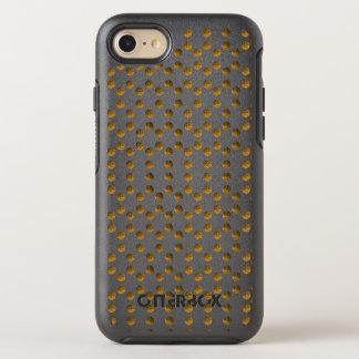 Golden Polka dots Symmetry Series Case, Black OtterBox Symmetry iPhone 8/7 Case