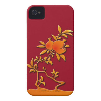 Golden pomegranate iPhone 4 cases