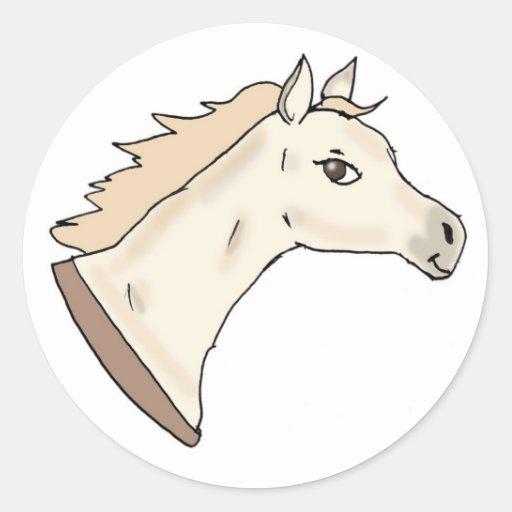 Golden Pony Stickers