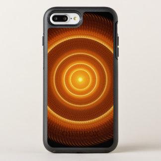 Golden Pulse Mandala OtterBox Symmetry iPhone 7 Plus Case