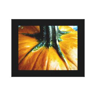 Golden Pumpkin Gallery Wrapped Canvas