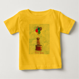 Golden Puppy Forever Toddler Unisex T-Shirt