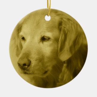 Golden Puppy  Ornament