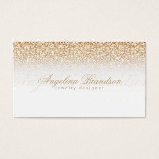 Golden Rain Jewelry Designer White Card