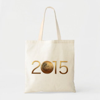 Golden Ram Chinese New Year of the Sheep 2015 Tote Bag