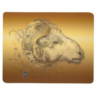 Golden Ram Sheep Goat Year - 2015 Calendar Journal