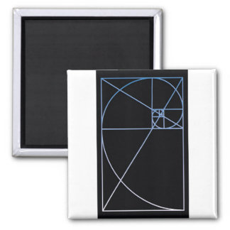 Golden Ratio Blue Magnet