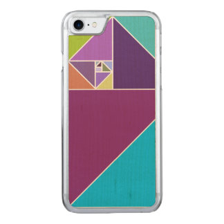 Golden Ratio (Bright Colors) Carved iPhone 8/7 Case