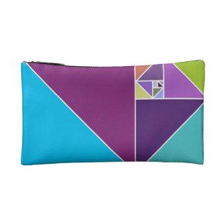 Golden Ratio (Bright Colors) Cosmetics Bags