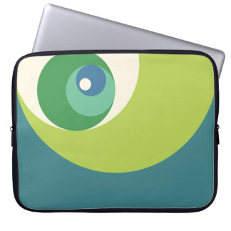 Golden Ratio Circles (Green) Laptop Sleeve