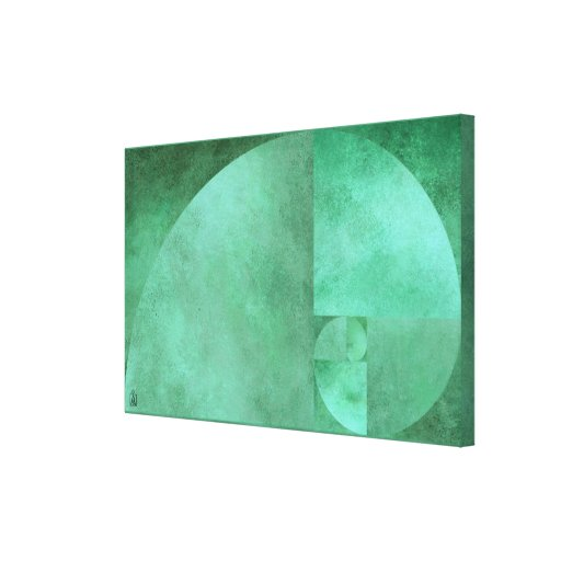 Golden Ratio, Fibonacci Spiral Canvas Prints