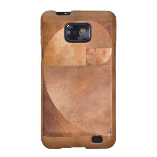 Golden Ratio, Fibonacci Spiral Samsung Galaxy SII Covers