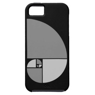 Golden Ratio, Fibonacci Spiral iPhone 5 Cover