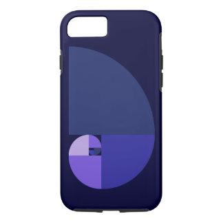 Golden Ratio, Fibonacci Spiral iPhone 8/7 Case