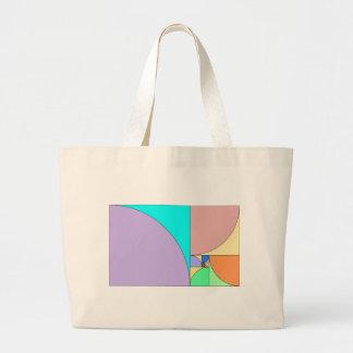 Golden Ratio Jumbo Tote Bag