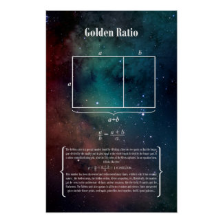 Golden Ratio Poster