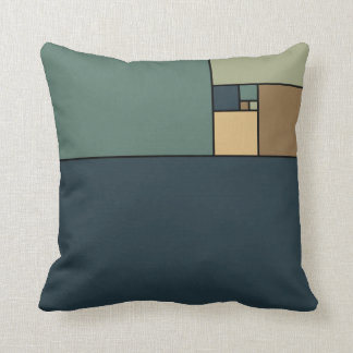 Golden Ratio Squares (Neutrals) Cushion
