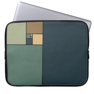 Golden Ratio Squares (Neutrals) Laptop Sleeve