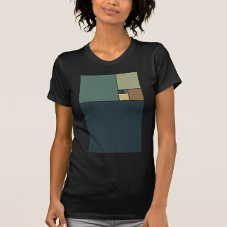 Golden Ratio Squares (Neutrals) T-Shirt
