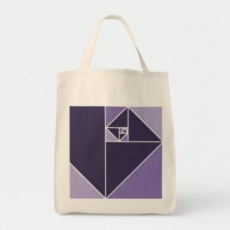 Golden Ratio Triangles (Purple)