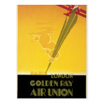 Golden Ray Air Union Postcard
