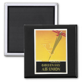 Golden Ray Air Union Square Magnet