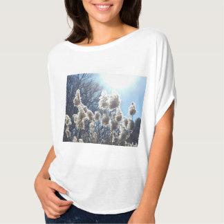 Golden Ray of Light Print Women's T-shirt