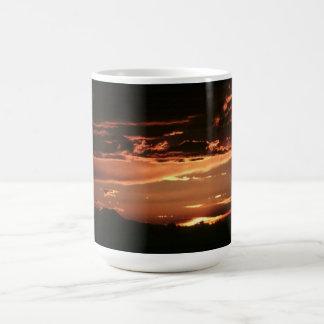 Golden Rays- Basic White Mug