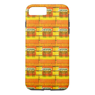 Golden Red African Traditional Colors Funny design iPhone 8 Plus/7 Plus Case