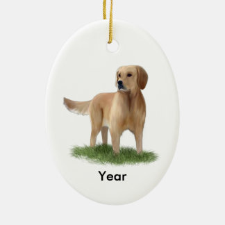 Golden Retreiver Dog Ornament