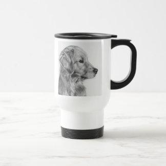 Golden Retreiver Profile Mug